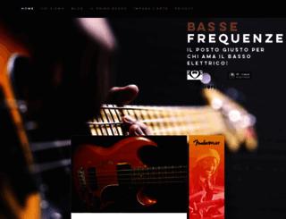 bassefrequenze.it screenshot