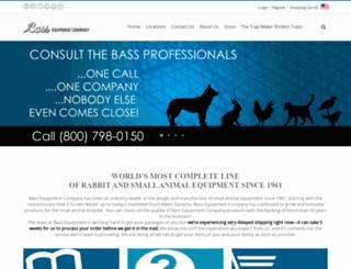 bassequipment.com screenshot