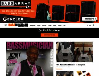 bassmusicianmag.com screenshot