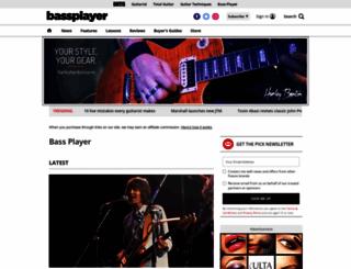 bassplayer.com screenshot