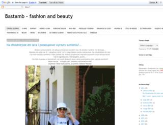 bastamb-szafa.blogspot.com screenshot