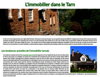 bastides-immobilier.com screenshot