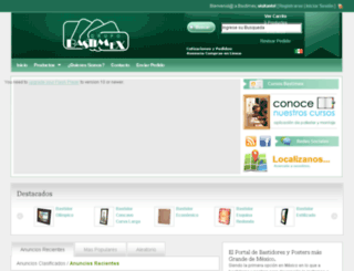 bastimex.com.mx screenshot