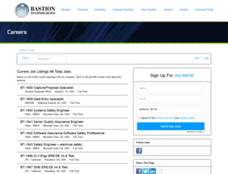 bastiontechnologies.applicantpro.com screenshot