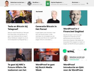 basvanderlans.nl screenshot