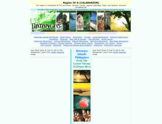batangas.islandsphilippines.com screenshot