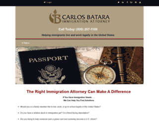 bataraimmigrationlaw.com screenshot