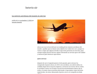 batavia-air.com screenshot