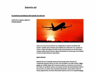 batavia-air.com screenshot