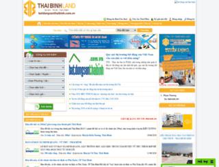 batdongsanthaibinh.com.vn screenshot