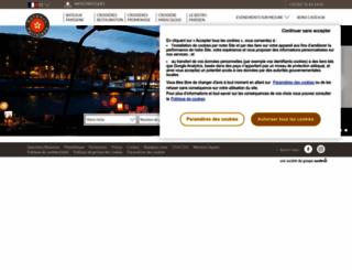 bateauxparisiens.com screenshot