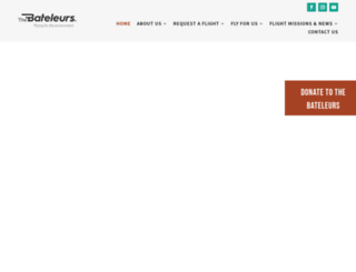 bateleurs.co.za screenshot