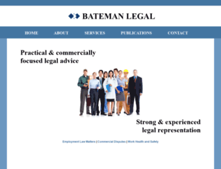 batemanlegal.com.au screenshot