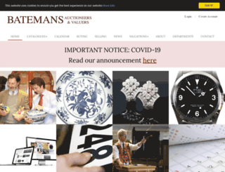 batemans.com screenshot
