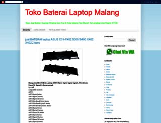 baterailaptopmalang.blogspot.com screenshot