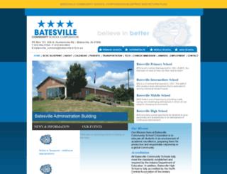 batesvilleinschools.com screenshot