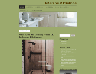 bathandpamper.co.uk screenshot