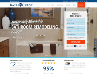 bathcrest.com screenshot
