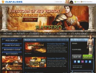 batheo.clapalong.com screenshot