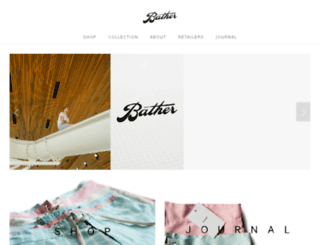 bathertrunkcompany.squarespace.com screenshot