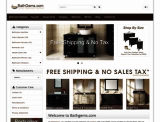 bathgems.com screenshot