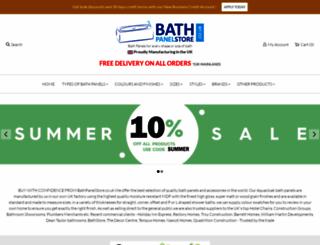 bathpanelstore.co.uk screenshot