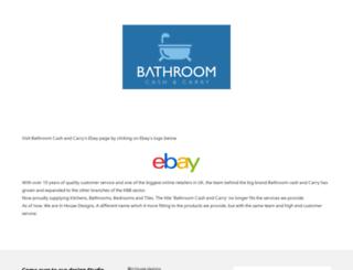 bathroomcashandcarry.co.uk screenshot