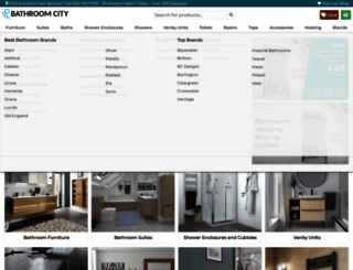 bathroomcity.co.uk screenshot