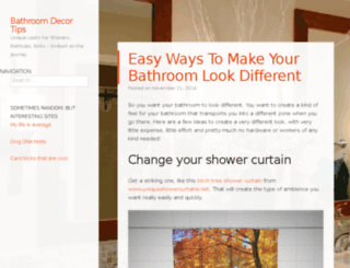 bathroomdecortips.com screenshot