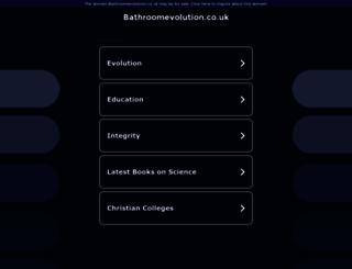 bathroomevolution.co.uk screenshot
