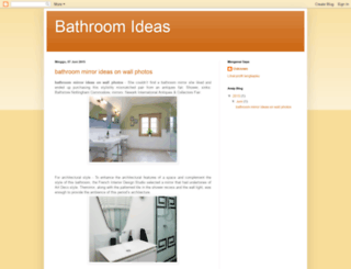 bathroomideass.blogspot.com screenshot