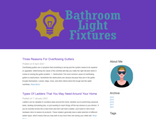 bathroomlightingfixturesguide.com screenshot