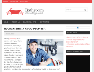 bathroomremodelingsecrets.com screenshot