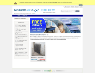 bathroomsareus.co.uk screenshot