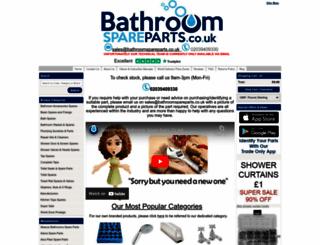 bathroomspareparts.co.uk screenshot