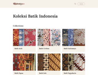 batikindonesia.com screenshot