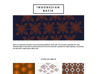 batikindonesia.org screenshot