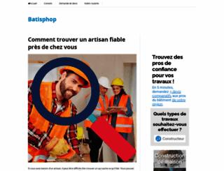batishop.fr screenshot