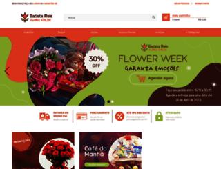 batistareisfloresonline.com.br screenshot