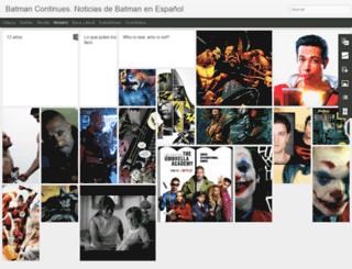 batmancontinues.blogspot.mx screenshot