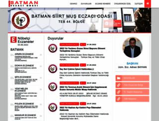 batmaneczaciodasi.org.tr screenshot
