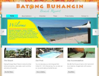 batongbuhanginbeachresort.com screenshot