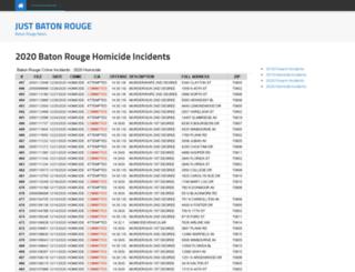 batonrougecrime.com screenshot