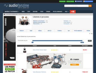 batterie.sonicprice.fr screenshot