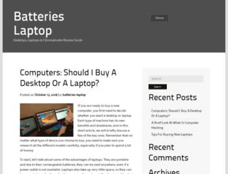 batteries-laptop.org screenshot
