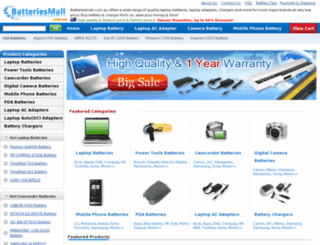 batteriesmall.com.au screenshot