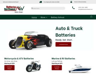 batteriesnorthwest.com screenshot