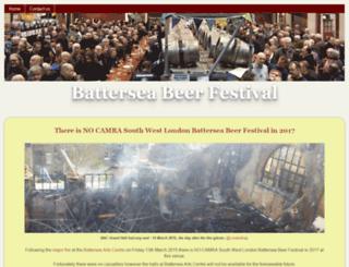 batterseabeerfestival.org.uk screenshot