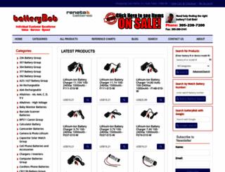 batterybob.com screenshot