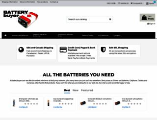 batterybuyer.com screenshot